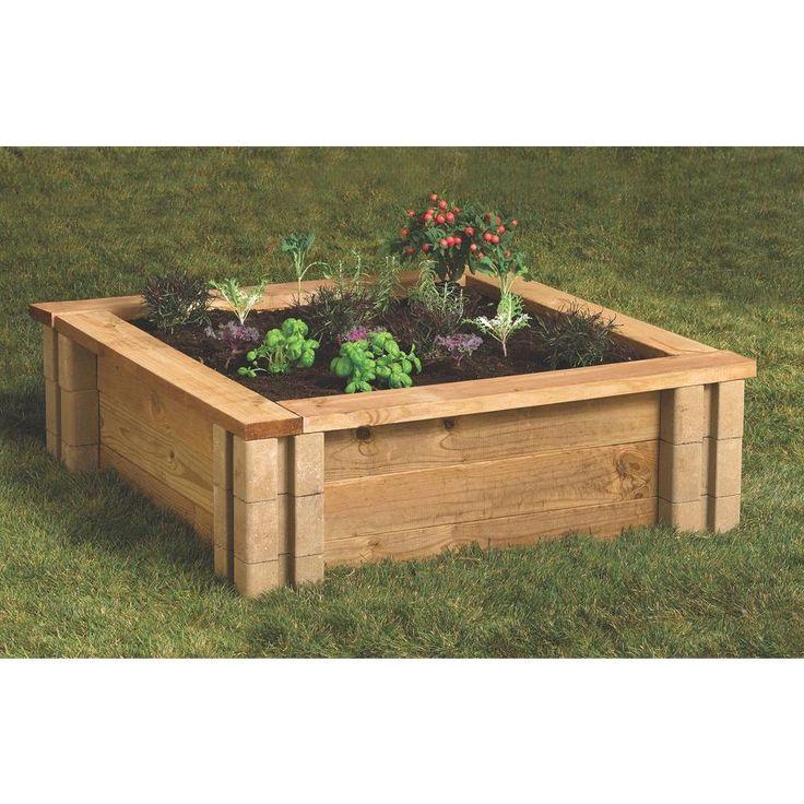 Home Depot Raised Garden Blocks