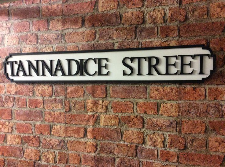 Tannadice Street sign