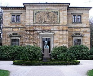 Haus Wahnfried: former House from Richard Wagner