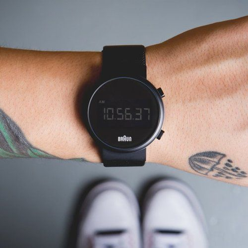 thegadgetflowofficial:  Braun BN0036 Digital Watch -...