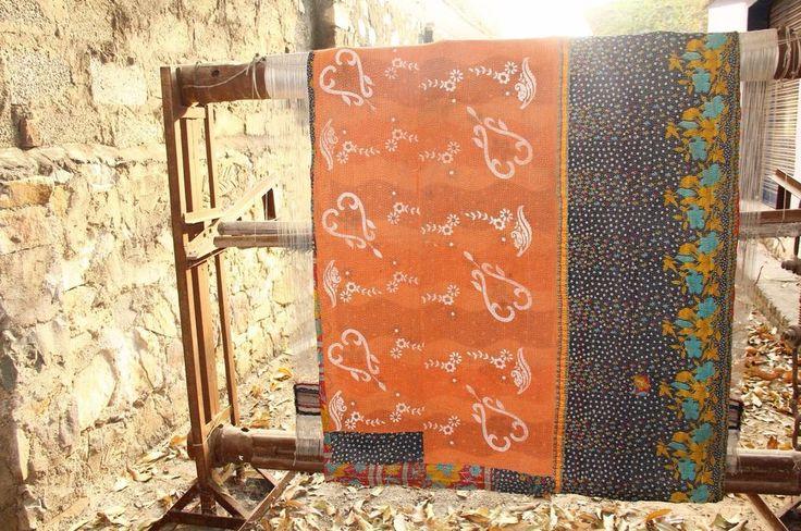 Best 25 Cotton Blankets Ideas On Pinterest Kantha Quilt