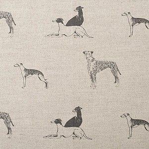 Linen sighthound fabric for upholstery. Greyhound, whippet, lurcher.: Dogs Fabrics, Bond Long, Fabulous Fabrics, Sighthound Fabrics, Linens Sighthound, Linens Greyhounds, Long Dogs, Dogs Prints, Emily Bond