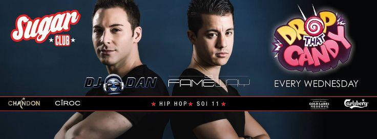 Wednesdays at Sugar Club #Bangkok is DJ Dan & Fameway night! #Soi11 #ClubLife