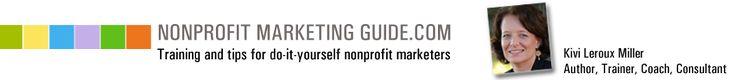 Nonprofit Marketing Guide - Kivi's resources - editorial calendars