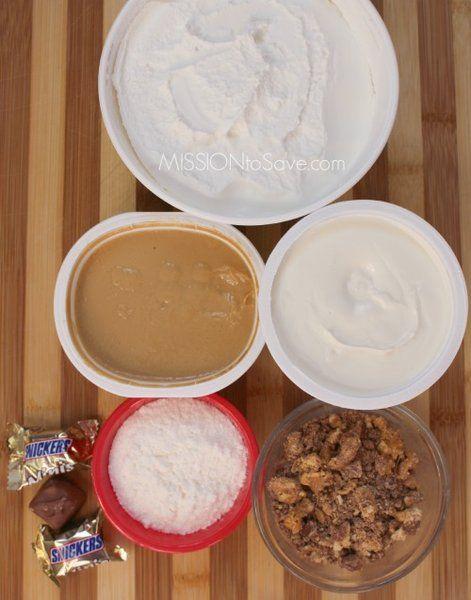 snickers dip ingredients