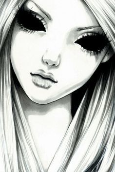 i usually just leave the eyes whited out but this is a creepy way to do it i guess..still love it