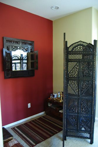 Ever thought about creating a special place in your home for some quiet meditation or prayer time?  Look around and see if there's a corner or room you can dedicate to reviving your mind, body and soul.   http://www.simplystunningspaces.net