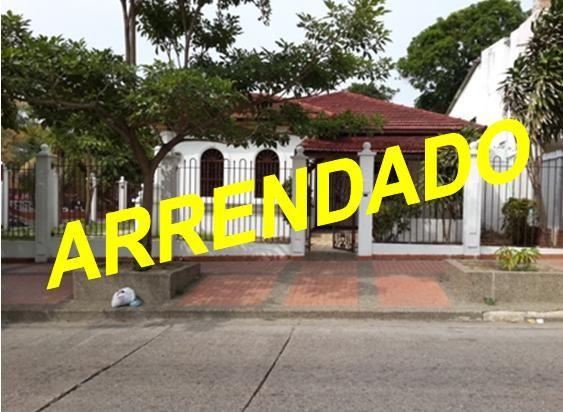 EXCELENTE CASA EN VENTA Y/O ARRIENDO UBICADA EN EL PRADO Casas en Venta y Renta en Barranquilla - INURBANAS S.A.S