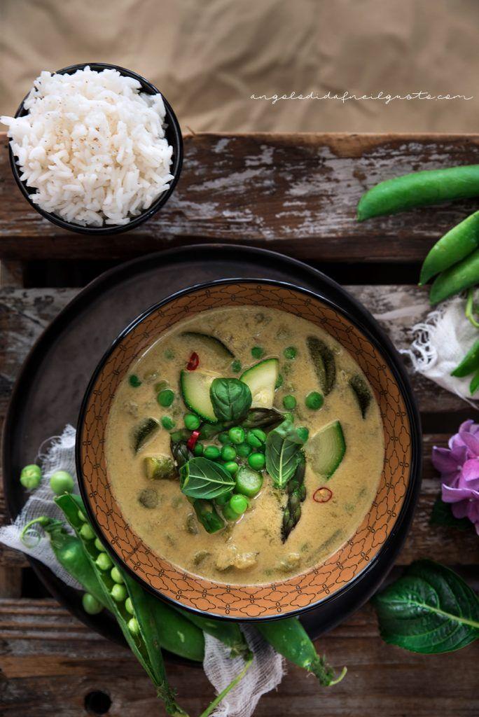 """Curry tiepido di verdure al cocco con riso - Dafne's Corner ...""""il Gusto"""""""