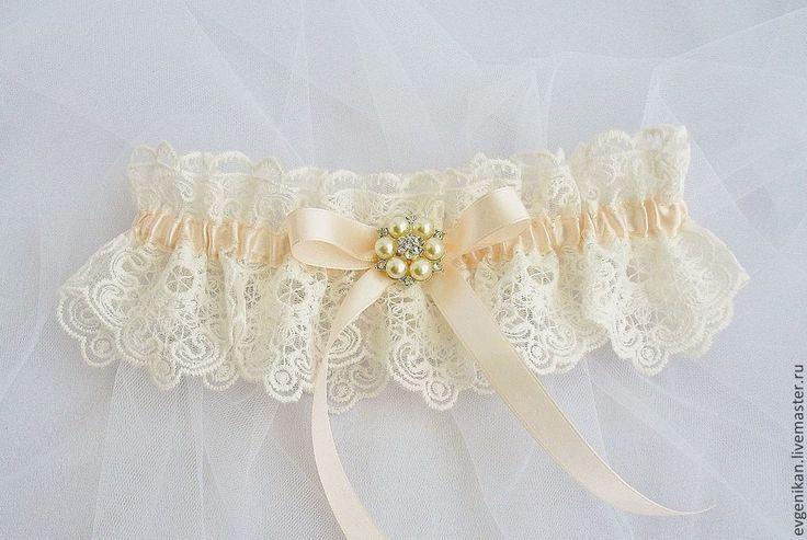 """Купить Подвязка для невесты """"Maria"""" - подвязка невесты, подвязка, Подвязка для невесты, подвязка свадебная"""