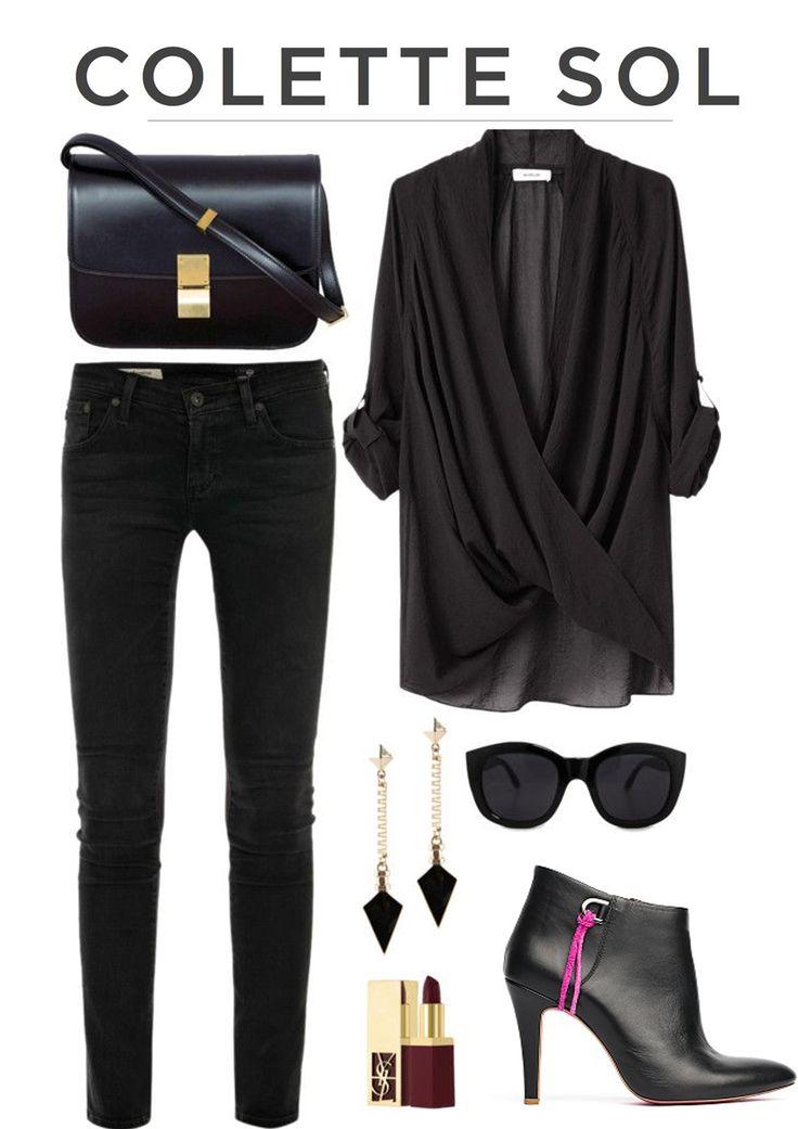 Glamour Boot Black