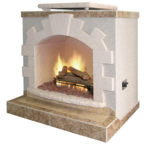 propane gas outdoor fireplace at the home depot mobile
