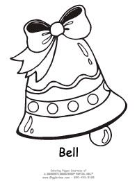 Images Of Coloring Pages Bells