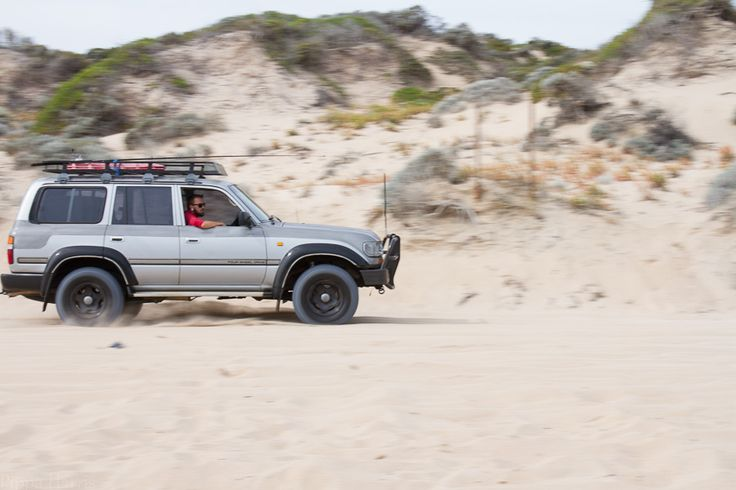Beach Four Wheel Driving: Tv ISO 100 f/9.0 1/160 45mm Having a go at panning...this guy was going the fastest of all the cars going past...