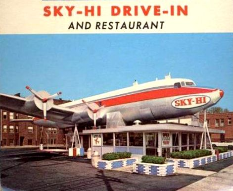 Sky Hi Drive In On Cicero By Midway Airport Lost Chicago