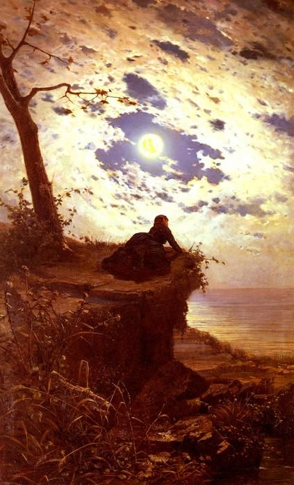 "Alfonso Simonetti (Italian, 1840-1892), ""Ancor Non Torna (And She Never Returned)"""