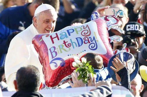 Свой 79-й день рождения сегодня отмечает Папа Франциск