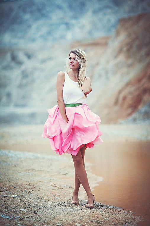 Capricho / ručne maľovaná sukňa