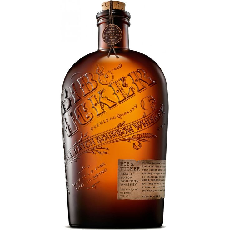 If there is a more beautiful bottle in Bourbon, I've yet to find it... Bib & Tucker 6 Year Old Small Batch Bourbon Whiskey