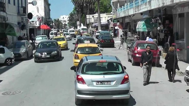 The streets of Tunis