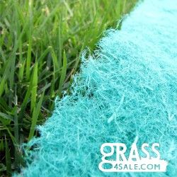 Grass Seed Start Mat - This biodegradable, net-less seed mat by Grass4Sale.com is perfect to help aid the growth of new grass seeds! It keeps seeds in an ideal environment for germination, will not catch in the blades of your lawn mower, and is most appropriate for seeding on slopes, hills and berms.