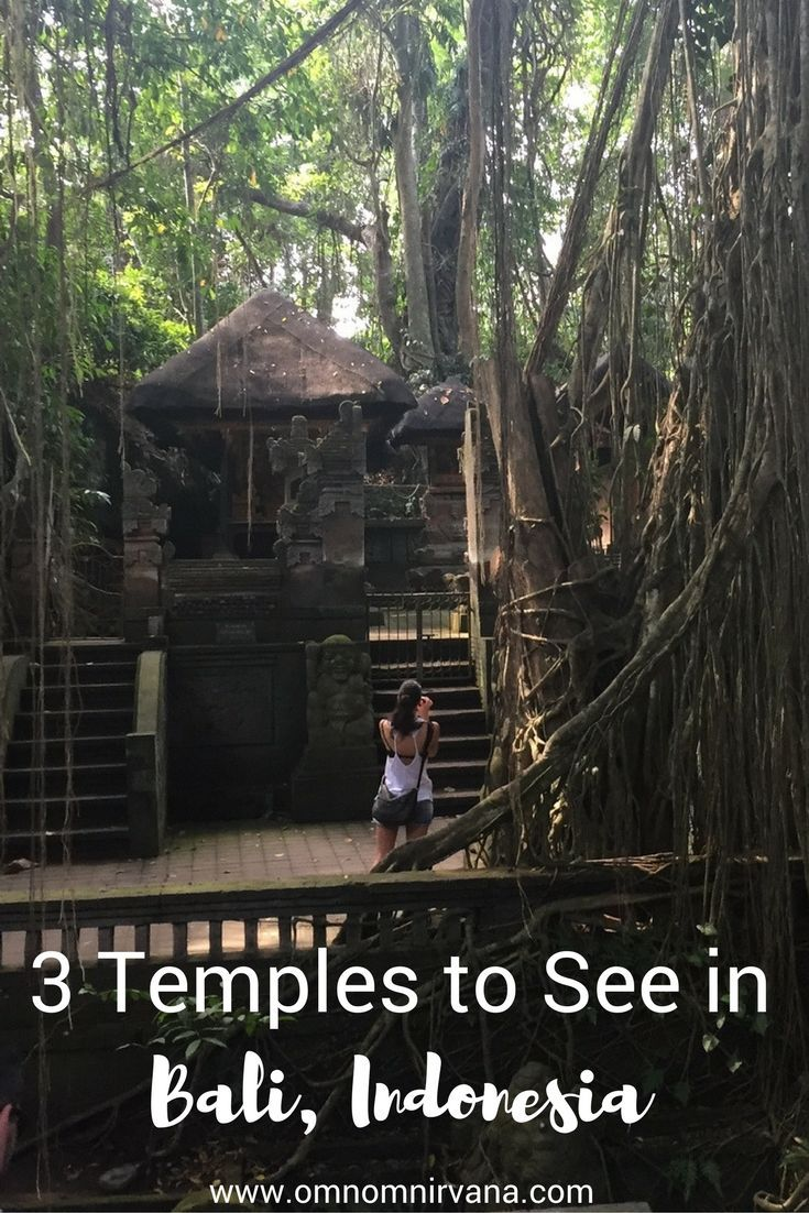 When you're in Bali, you have to go check out some temples. We saw 3 beautiful temples during our time in Bali. We'll tell you everything you need to know about the temples in Bali so you can be prepared when you get there. Make sure you save this to your travel board to help you plan for your trip.