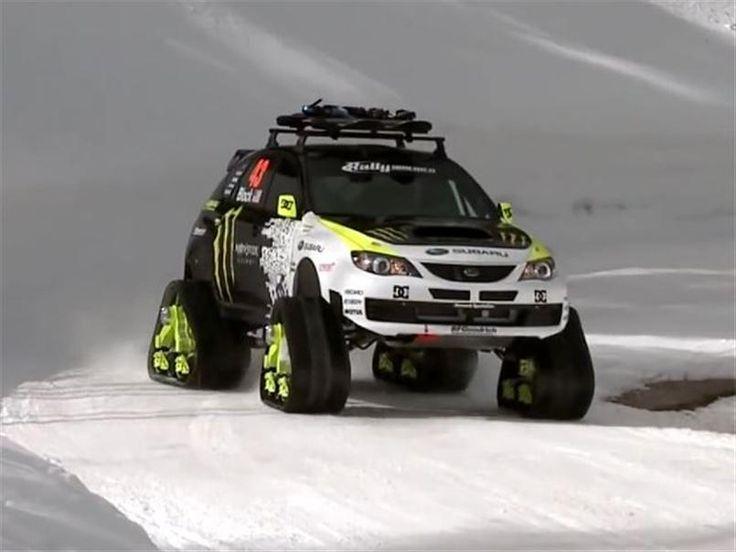 Ken Block Ford F 150 Raptortrax 04 4x4 Snowtracks