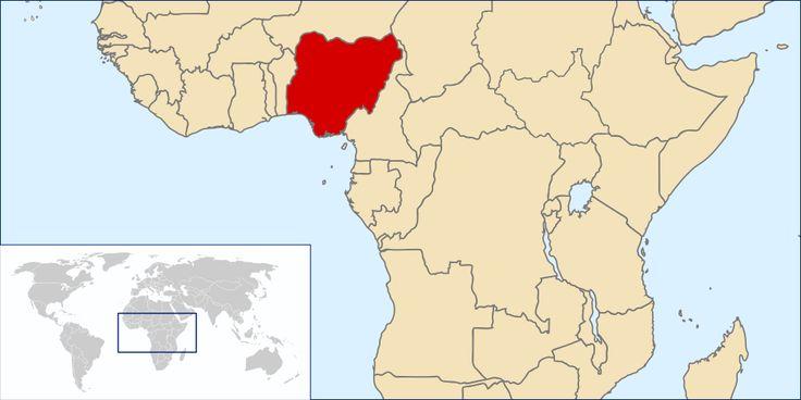 Location Nigeria ◆Nigeria - Wikipedia http://nl.wikipedia.org/wiki/Nigeria #Nigeria