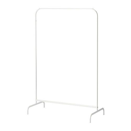 MULIG Clothes rack IKEA Suitable for both indoor and outdoor use. Plastic feet help protect the floor against scratching.