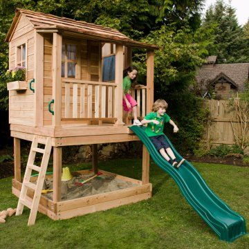 6 x 6 Little Squirt Playhouse - Outdoor Playhouses