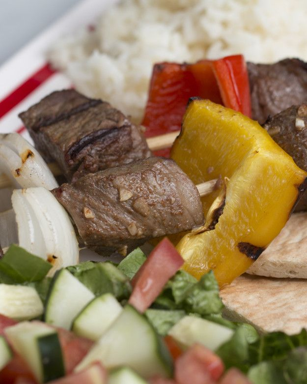 Beef Kebabs With Garlic Sauce | These Beef Kebabs Are Out Of This World Delicious And Totally Grillable