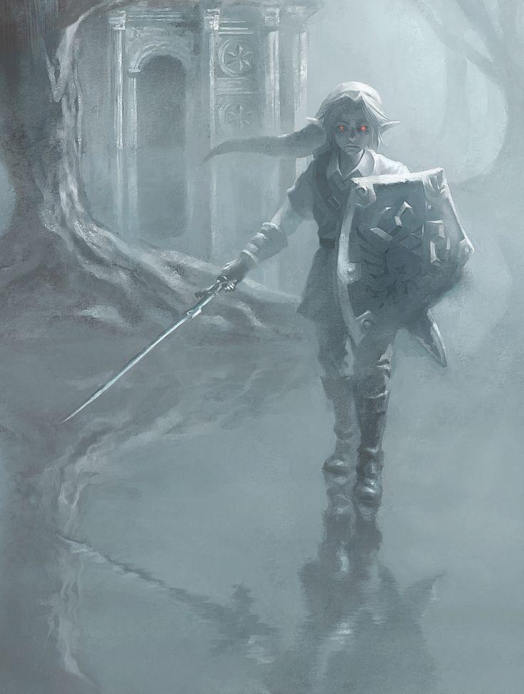 Dark Link by onmyous.deviantart.com on @DeviantArt