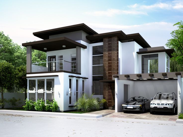 20 best dream homes images on pinterest modern house for Maids quarters house plans