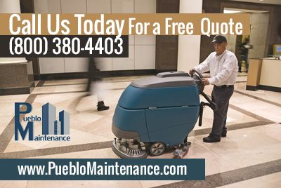 Pueblo Maintenance brings a higher level of clean to your organization and company environment.