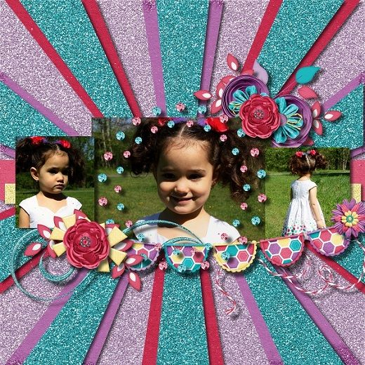 Template by day Dreams'n Designs - Sunburst Kit by day Dreams'n Designs - Just Like Mom