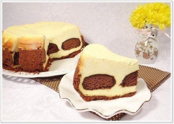 tvarohový  koláč  s  perníkom..