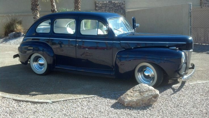 1941 ford 4 door with white upholstery interior love the for 1941 ford 4 door