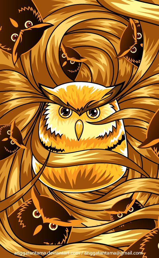 Owl by anggatantama on DeviantArt