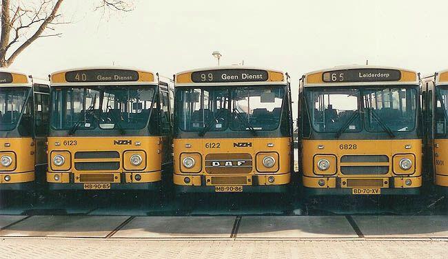 nzh bussen jaren 70