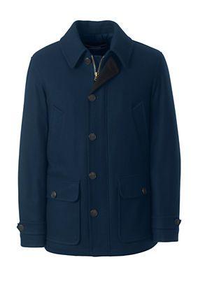 Men's Wool Car Coat