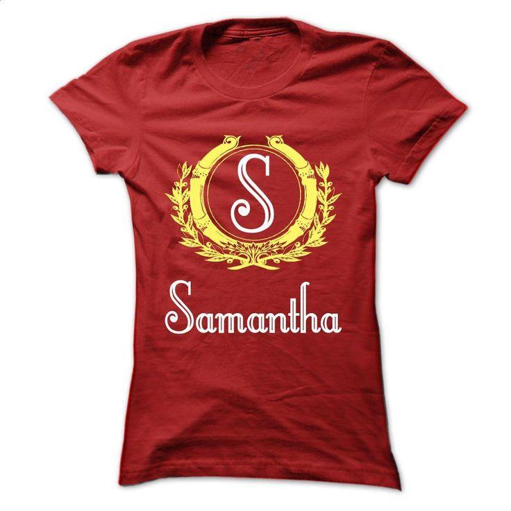 Samantha T Shirts, Hoodies, Sweatshirts - #cool t shirts #champion hoodies. I WANT THIS => https://www.sunfrog.com/Names/Limited-Edition-Samantha-Red-30747977-Ladies.html?60505