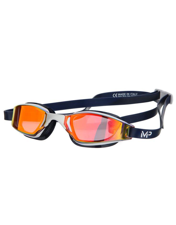 Michael Phelps Xceed USA Olympic Goggle - Titanium Mirrored Lens | Simply Swim UK