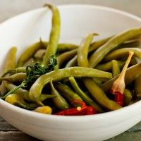 Three Bean Salad Recipe - Bon Appétit. Not the right photo for this recipe though.