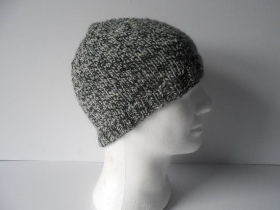Men's Beanie Hat.  Men's skull cap. Guy's beanie by AluraCrafts