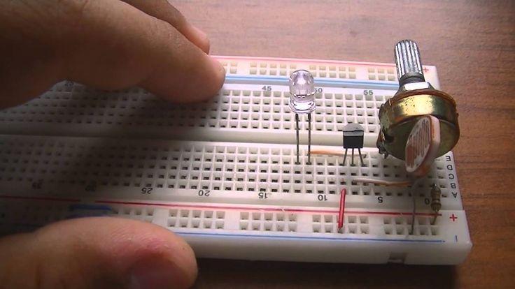Circuito Sensor Luz Ldr Circuito De Sensor