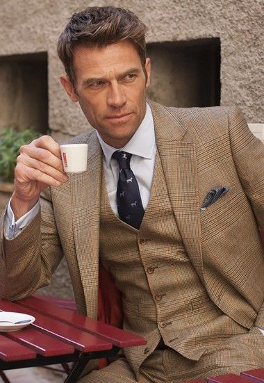 Country Suit Jacket, Summer Tweed - Mix & Match