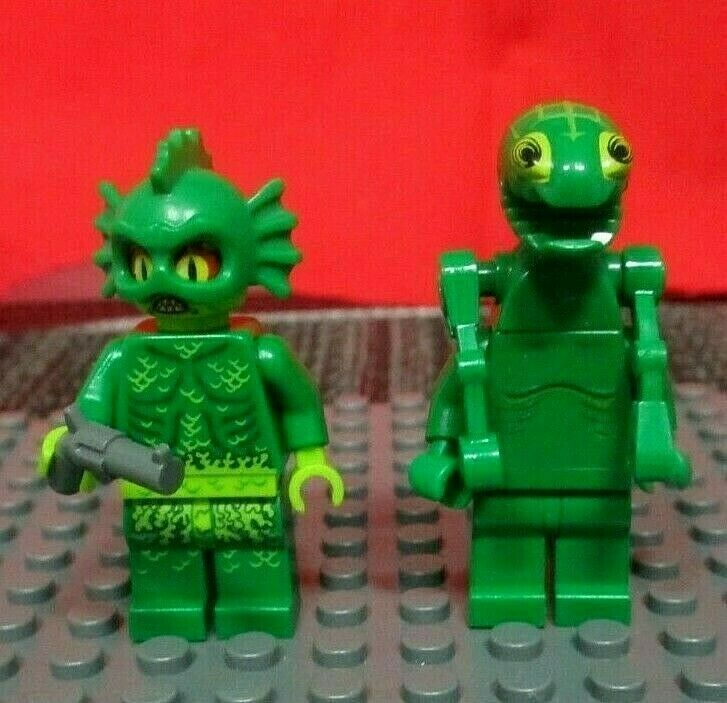 MINIFIG // MINI FIGURE LEGO Space Police 3 Frenzy Alien