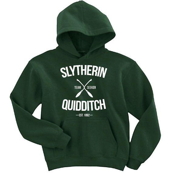Slytherin Quidditch Team Seeker Adult Unisex Hoodie