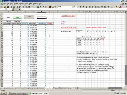 Predict Lotto 649 Winning Numbers an Excel Lottery Software Program. This is an exceptional and groundbreaking new lotto 6/49 prediction method that is easy to use and can dramatically increase the probability of selecting the correct winning numbers for the next draw. It is based on the intervals of the numbers. The number of draws between two appearances of the same number. More information at http://predict649.weebly.com/ #win #lottery #lotto #download #excel #spreadsheet #program…