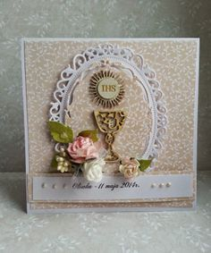 first communion scrapbooking card - Szukaj w Google